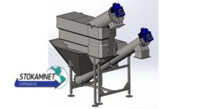 Комбинированная установка механической очистки сточных вод КУМ